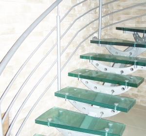 Schody szklane