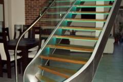 schody nierdzewne